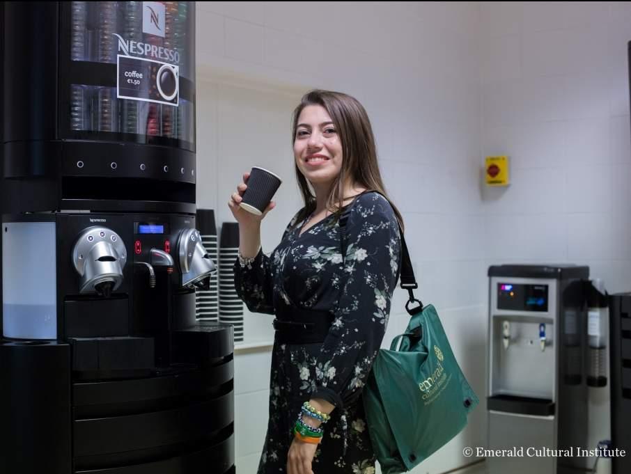17. Okulun en popüler köşesi Nespresso Corner!