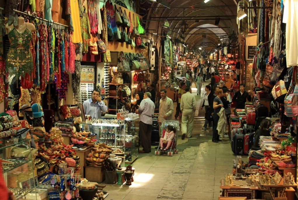 10. You will love Turkish markets such as Grand Bazaar.