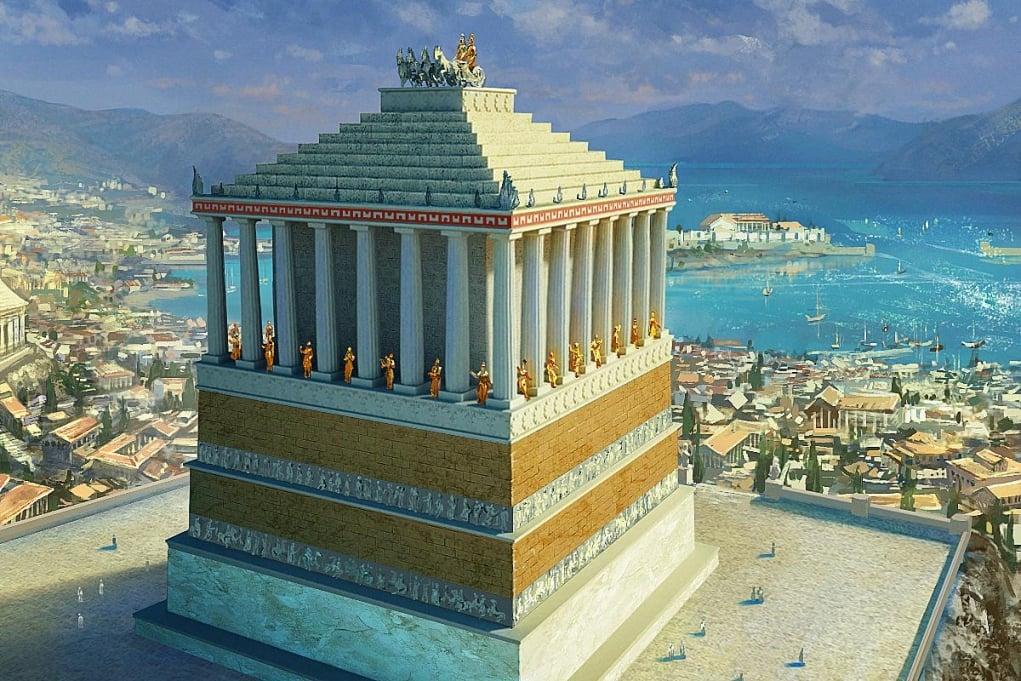 6. Haliskarnas Mozolesi (M.Ö. 350 – Bodrum, Türkiye)