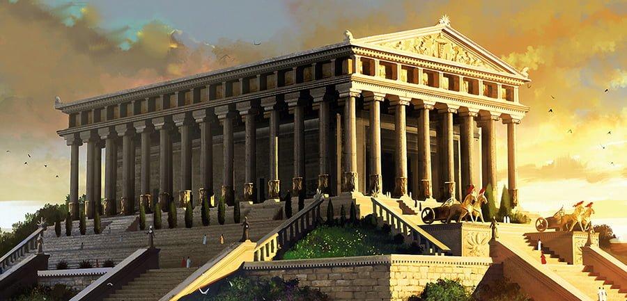 7. Artemis Tapınağı (M.Ö. 550 – Efes, Türkiye)