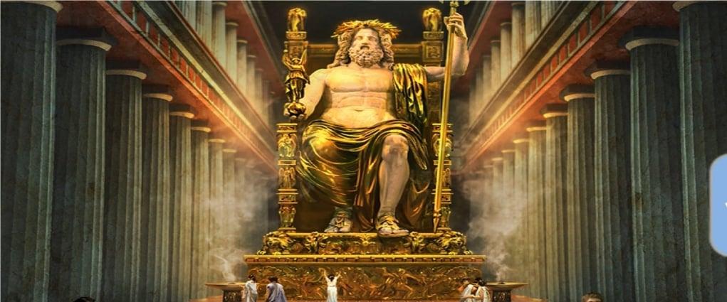 3. Zeus Heykeli (M.Ö. 456 – Olympia, Yunanistan)