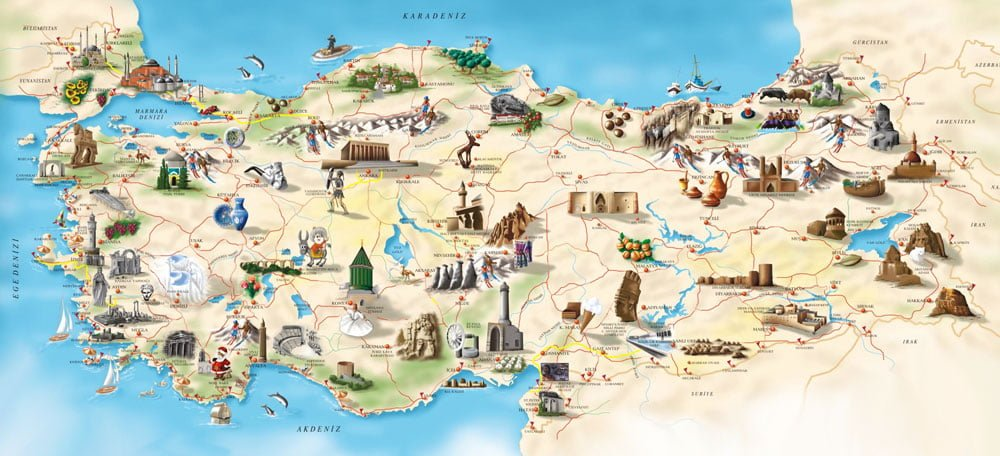 1. Turkey has so many beautiful places to see.