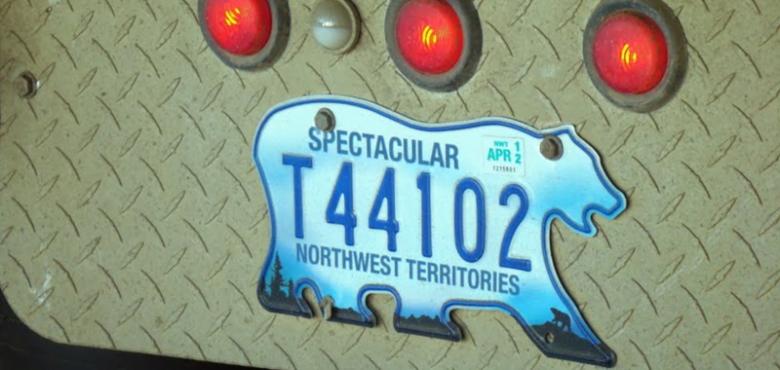 5. Ülkenin kuzey bölgelerinde araç plakaları kutup ayısı şeklindedir.