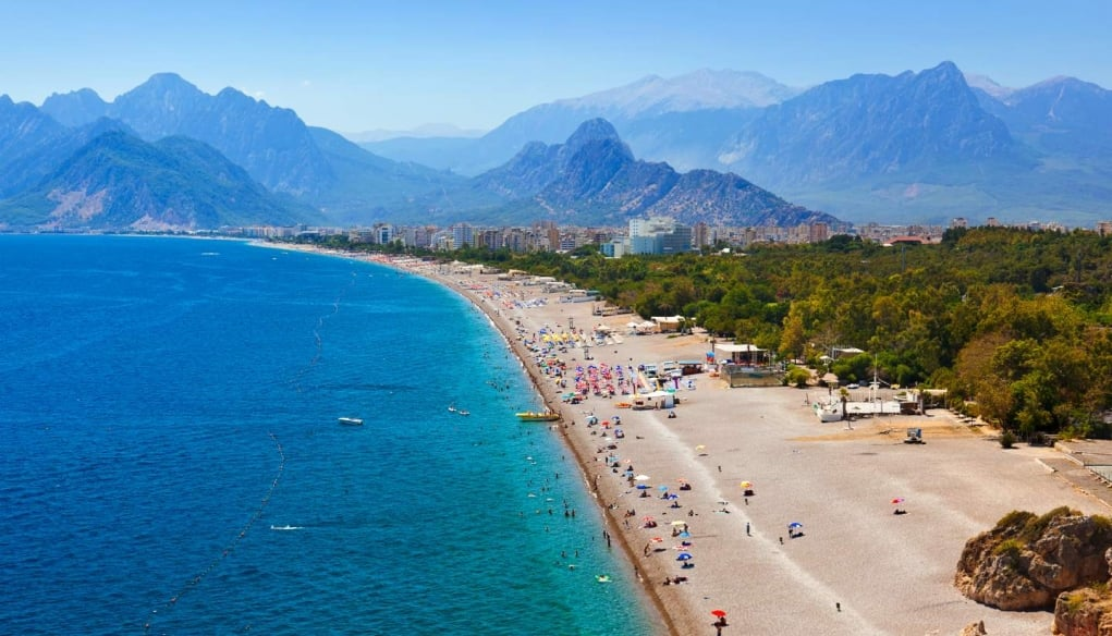 5. Turkey has amazing beaches!