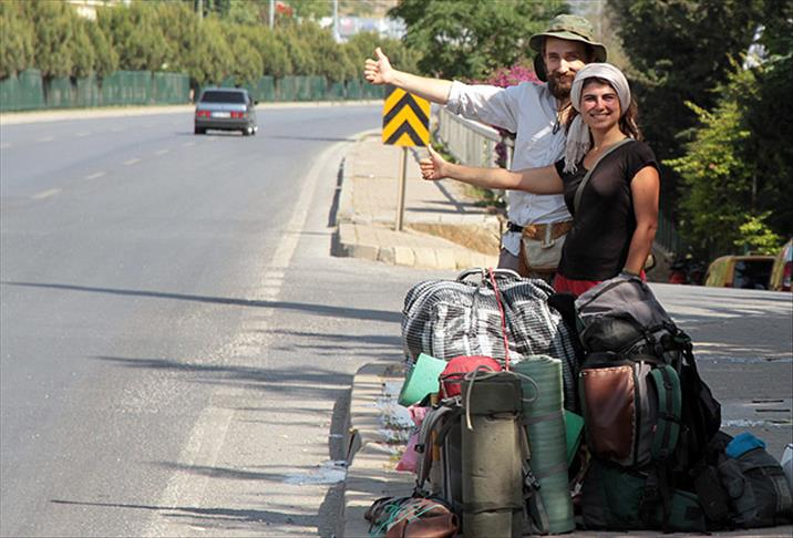 1. You can travel all over the country with hitchhike!