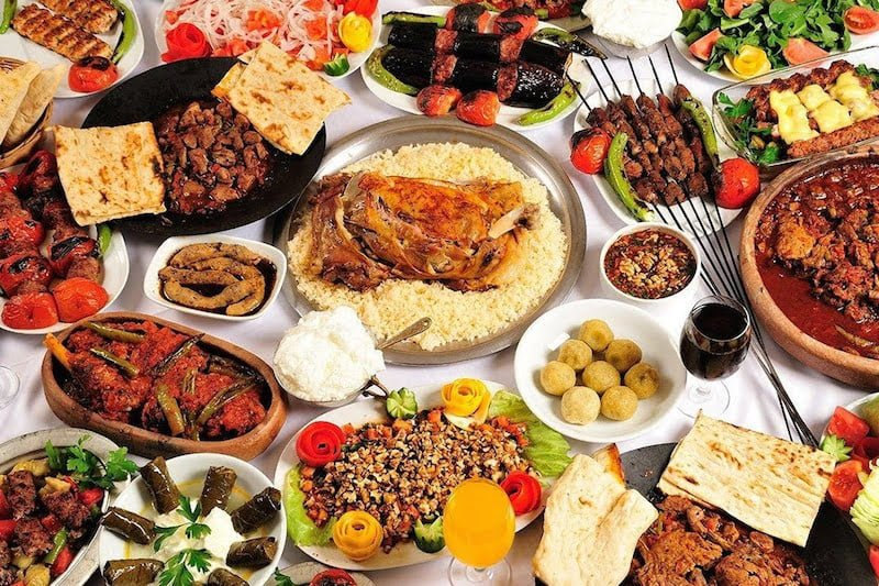 3. Turkey has one of the best cuisines in the world.