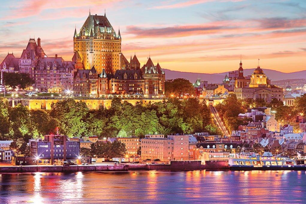 5. Le Vieux Quebec (Old Quebec)