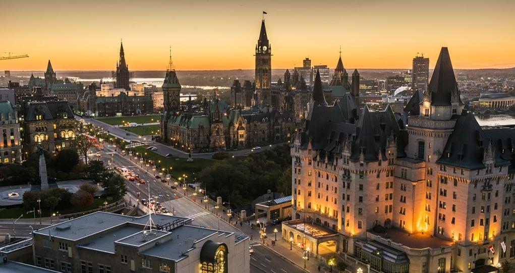 8. Ottawa's Parliament Hill