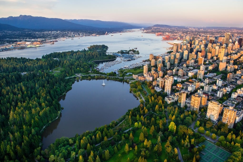 10. Stanley Park, Vancouver