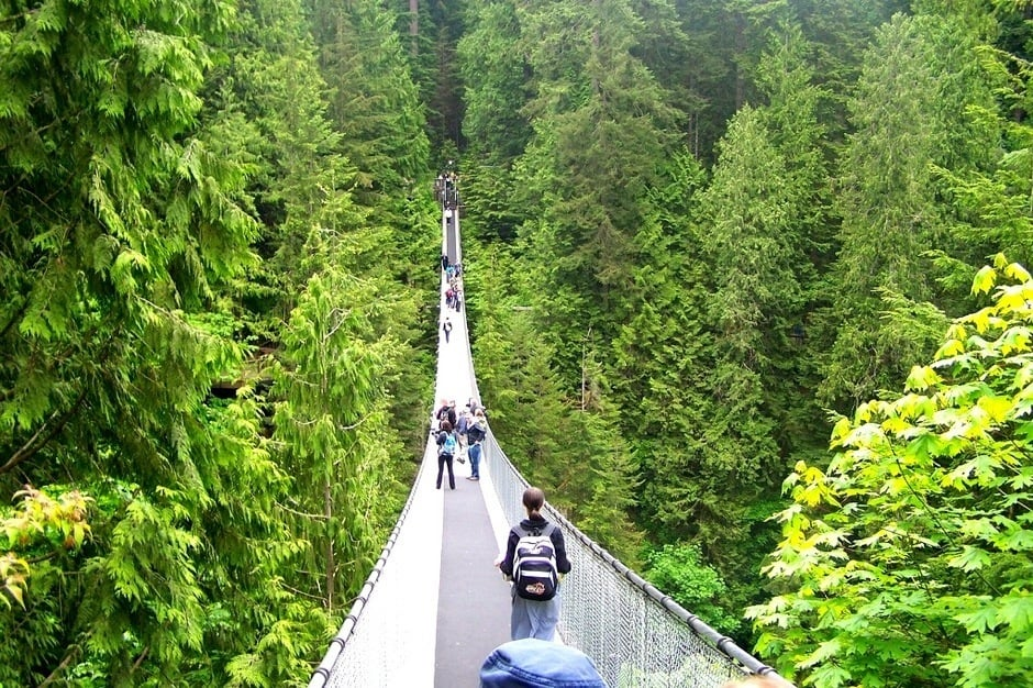 3. Capilano Suspension Bridge