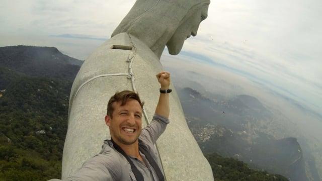 4. Rio'da İsa Heykeli'ne çıkmak.