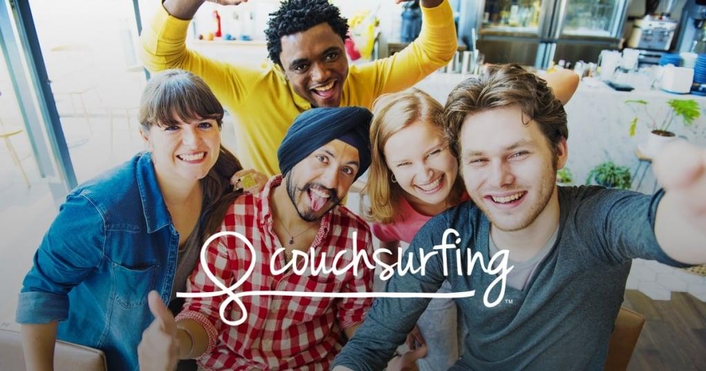 20. Couchsurfing