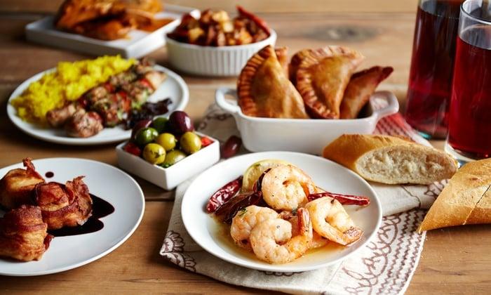 2. Tapas kültürü sayesinde aperatif yiyecekler masanıza gelebilir.