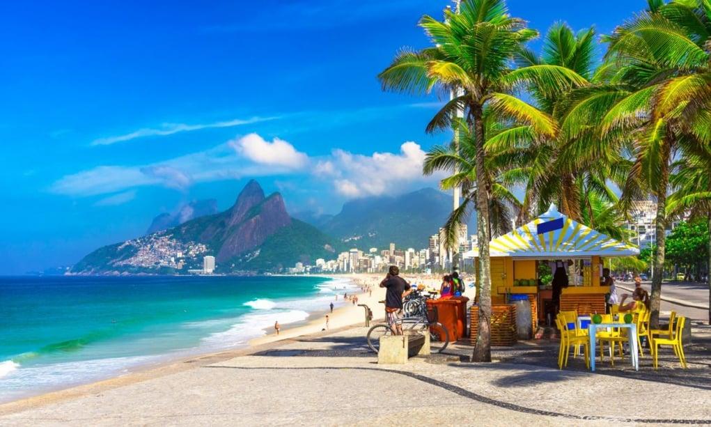 10. Ipanema Beach, Rio de Janeiro, Brezilya