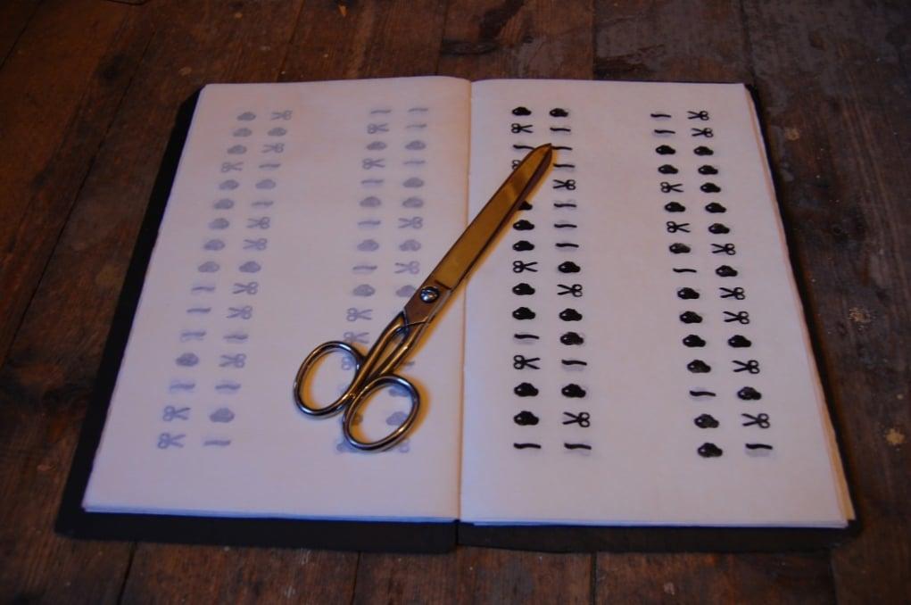 7.A scissor