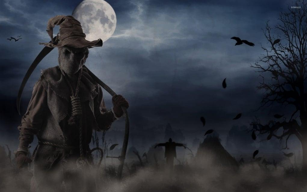 9. Scarecrows