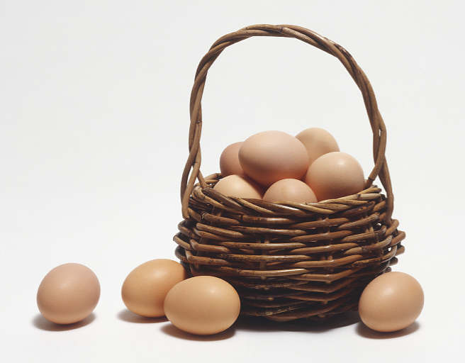 "6. ""Don't put all your eggs in one basket."""