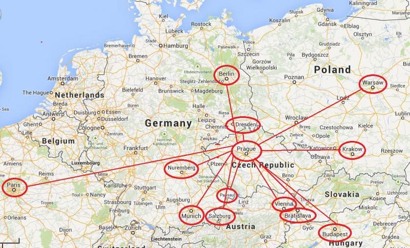 9. Eğitim alırken bütün Avrupa'yı gezme fırsatınız vardır.