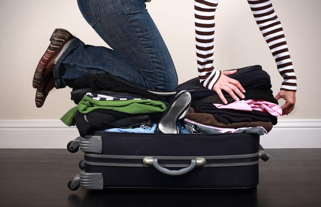 4. Bavula koyduğunuz eşyalarınhepsini kullanmayacağınızı biliyorsunuz.