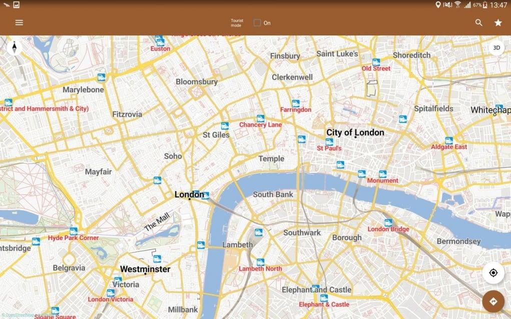 7. Yurtdışına çıktığınızda en iyi arkadaşınız çevrimdışı haritalar olacak.