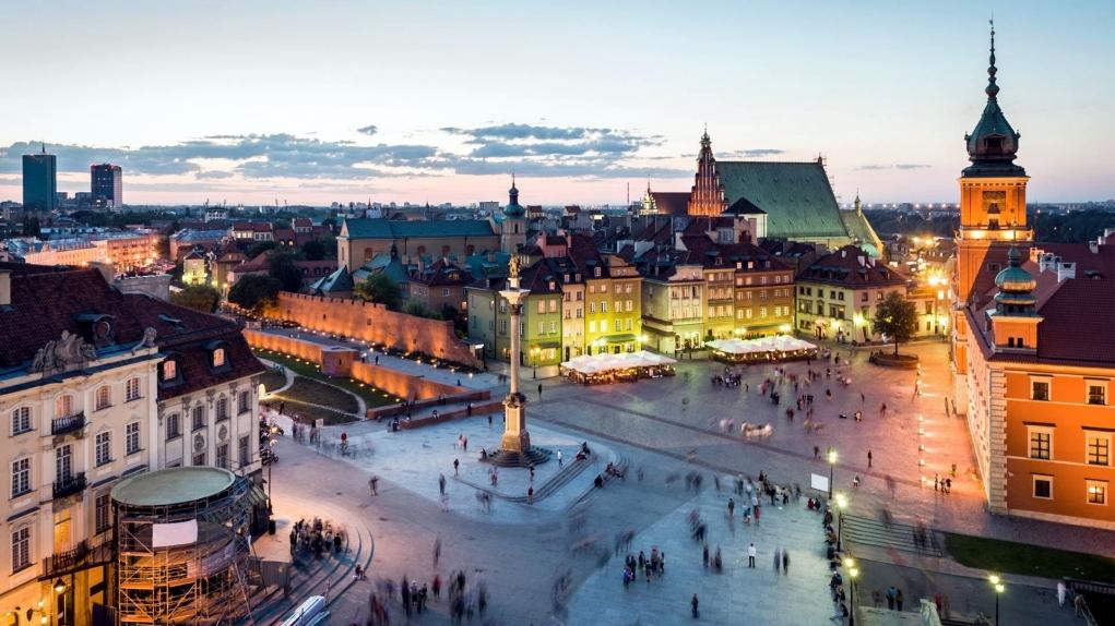 7. Varşova / Polonya