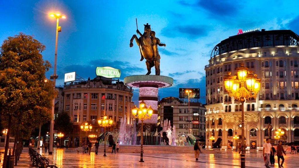 10. Üsküp / Makedonya