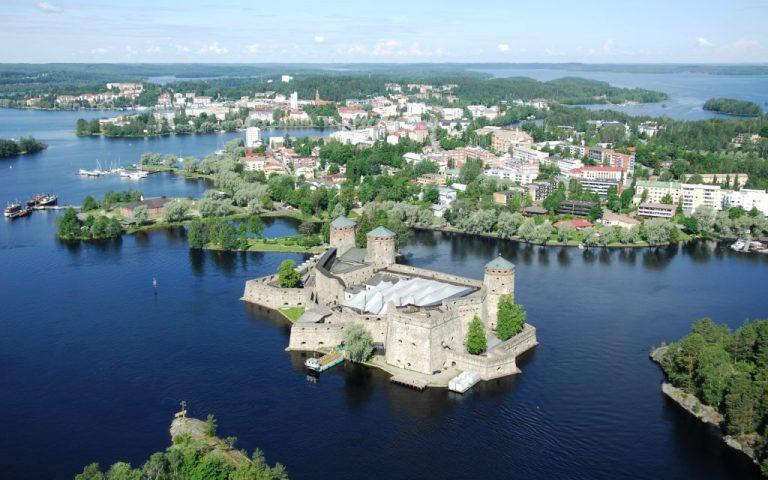 4. Savonlinna, Finlandiya