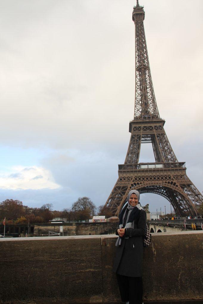 6. Fırsat bulmuşken Paris kaçamağı yaptım.