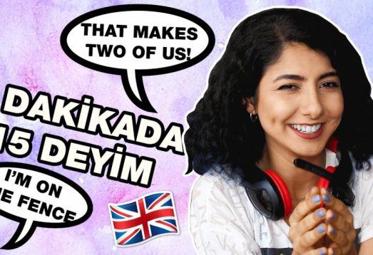 Herkesin Bilmesi Gereken 15 İngilizce Deyim | TOEFL, IELTS, YDS