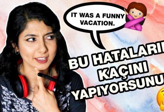 Türklerin İngilizcede En Yaygın Hataları | İngilizcenizi Test Edin