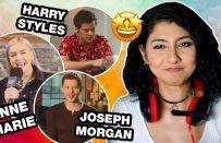 Ünlülerden İngilizce Öğrenmek   Anne Marie, Harry Styles, Joseph Morgan