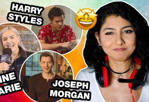 Ünlülerden İngilizce Öğrenmek | Anne Marie, Harry Styles, Joseph Morgan