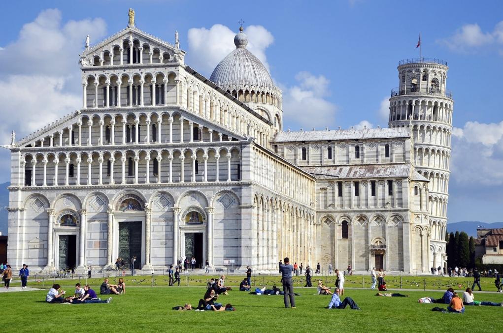 5. Pisa, İtalya