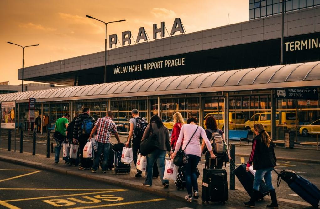 1. Prag havaalanından şehir merkezine nasıl ulaşırım?