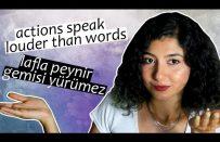 İngilizce Atasözleri ve Türkçe Karşılıkları
