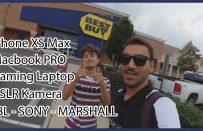 Amerika'da Elektronik Eşya Fiyatları | iPhone XS Max | Macbook | DSLR Kamera