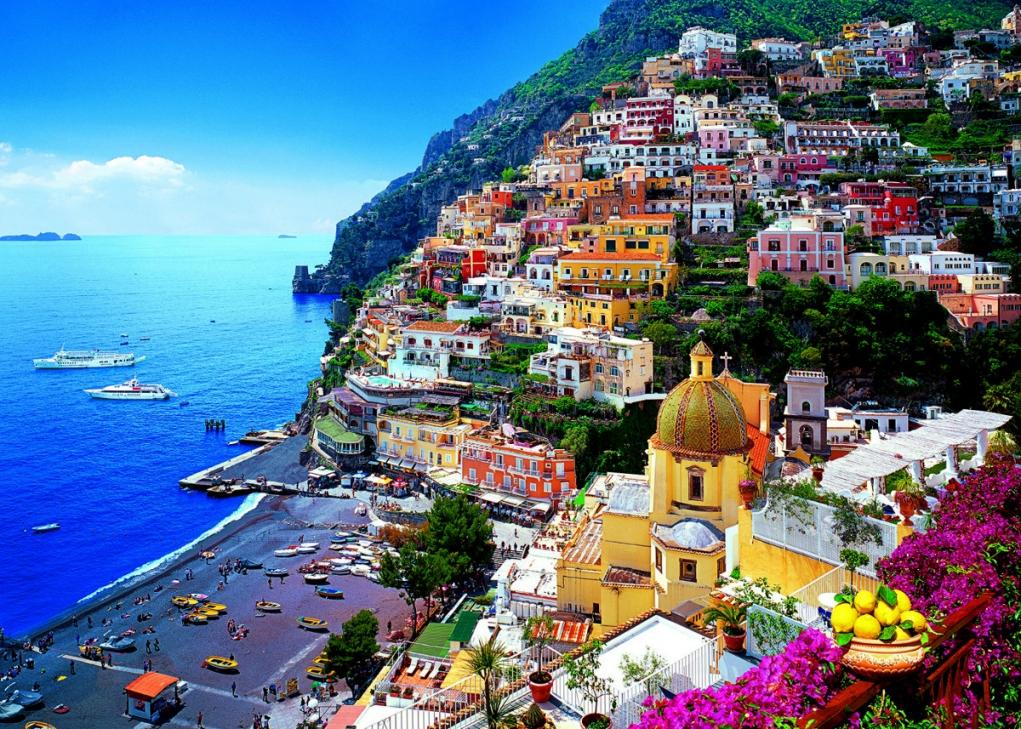 6. Evinize gider gibi İtalya'ya gidin!