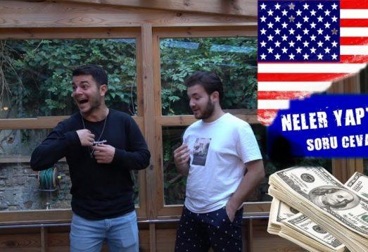 3 Ayda Amerika'da Ne Kadar Kazandım? | Soru Cevap