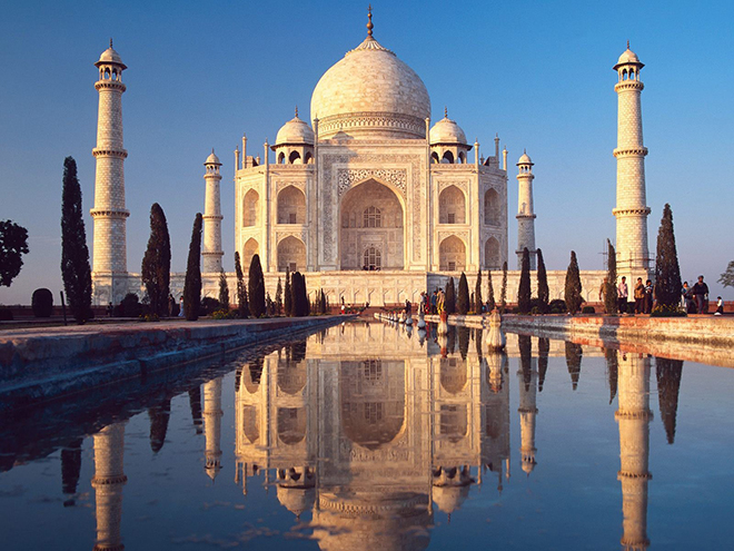 2. Tac Mahal (Agra, Hindistan)