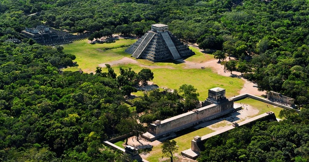 4. Chichen Itza (Yucatan, Meksika)