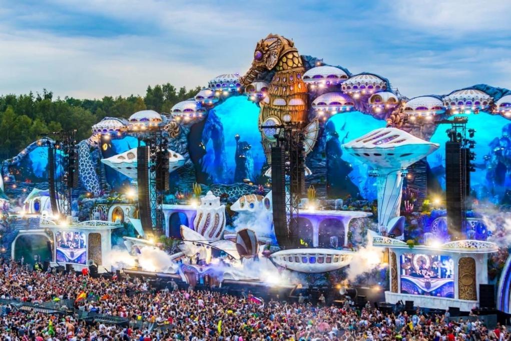 5. Dünyanın en iyi müzik festivalleri Belçika'da yapılıyor.