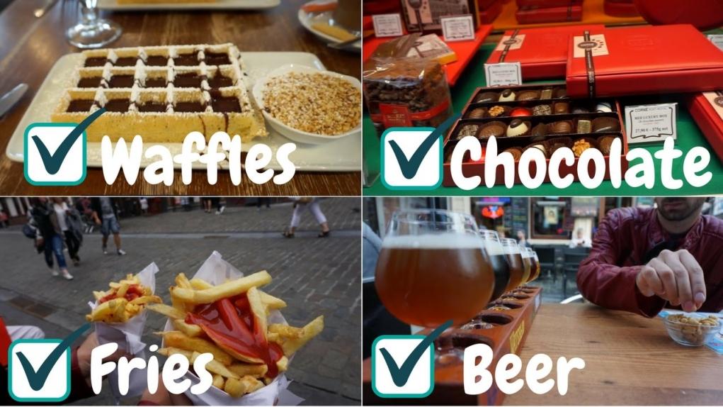 2. Belçika'nın bira, waffle, patates ve çikolatası dünyanın en iyileri kabul edilir.