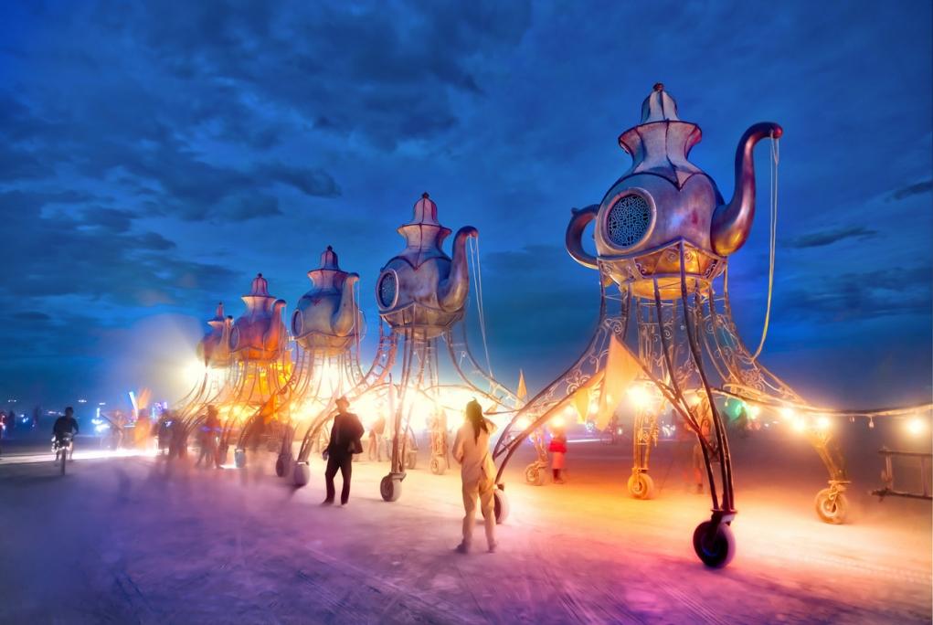 5. Burning Man Festival (Black Rock Desert, Nevada)