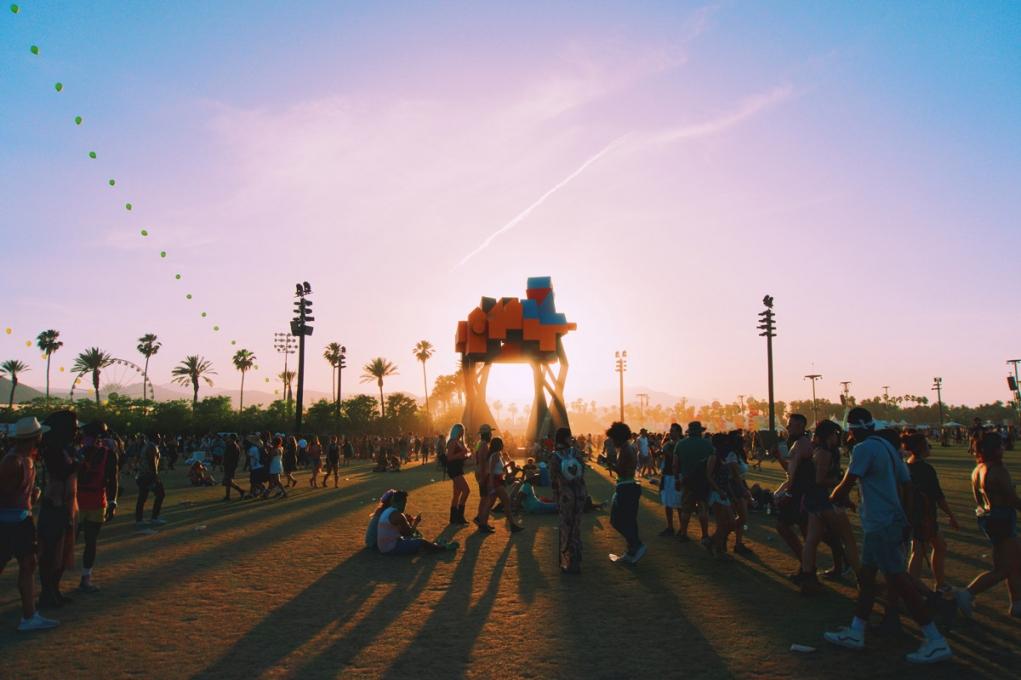 3. Coachella (Empire Polo Club in Indio, California)