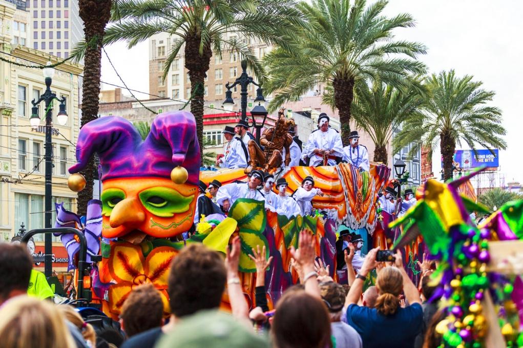 2. Mardi Gras (New Orleans, Louisiana)
