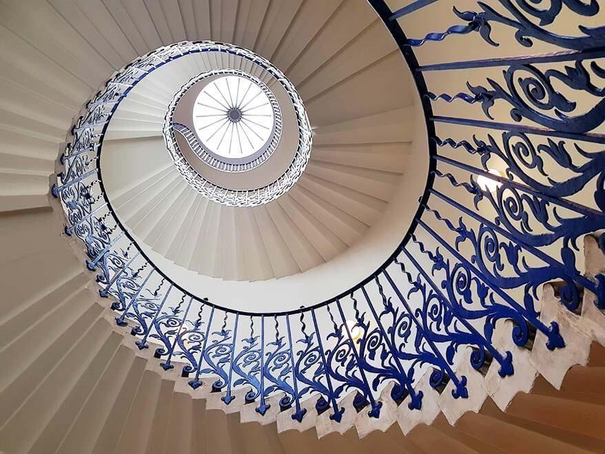 4. Tulip Merdivenleri, Queen's House Greenwich