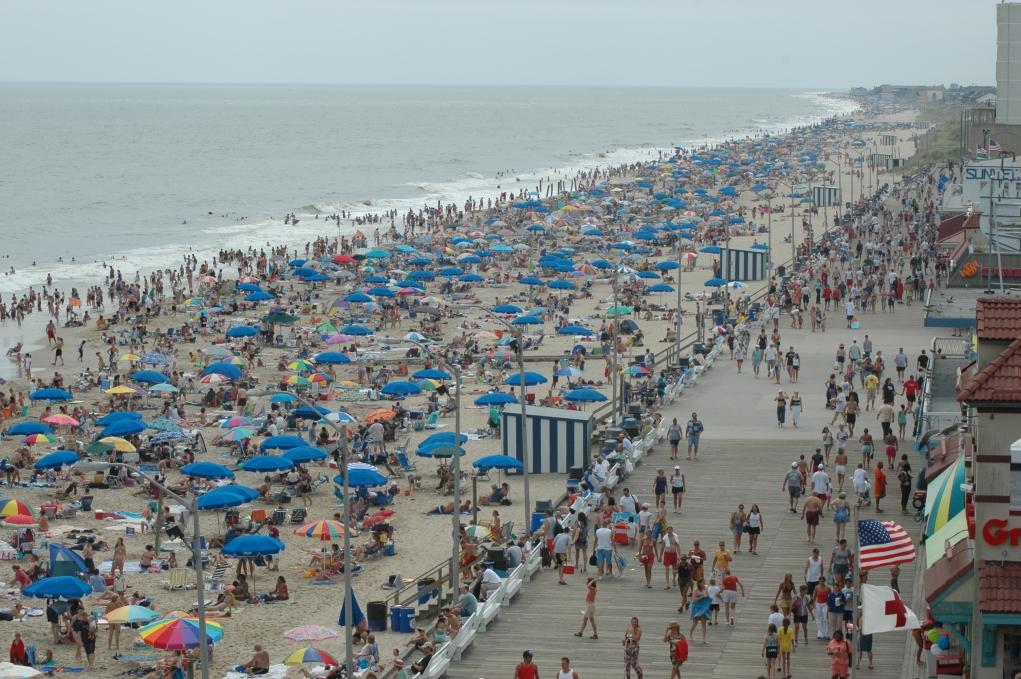 3-Delaware'in incisi Rehoboth Beach